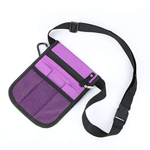 不适用 Fanny Pack Nursing Belt Organizer for Women Nurse Waist Bag Shoulder Pouch Nurse Tool Bag Multifunctional Waist Bag