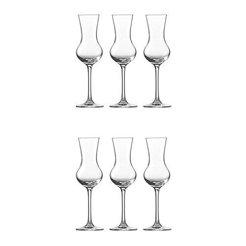 Schott Zwiesel Grappa Glas 155, 6er Set, Bar Special, Digestif, Schnapsglas, Form 8512, 113 ml, 111232