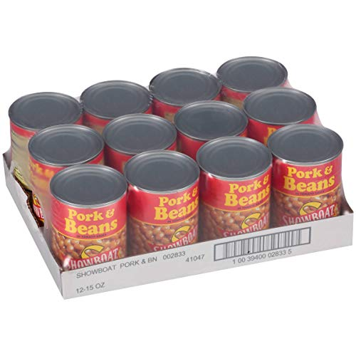Showboat Pork And Beans In Tomato Sauce, 15 oz