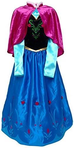 Disney original - Die Eisk gin - v ig unverfüren - Anna Kinder Kostüm Deluxe - Alter 3   4 Jahre