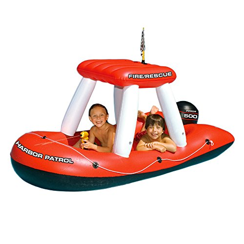 Review Swimline Fireboat Squirter Inflatable Pool Toy