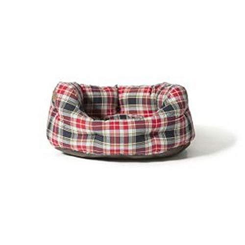 Danish Design Lumberjack Lit d'appoint Rouge/Gris 89 cm