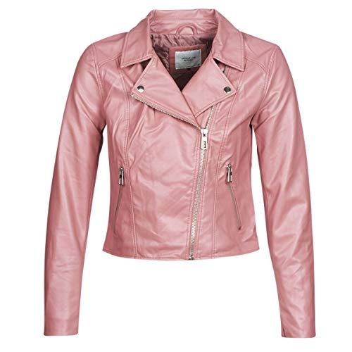 JdY Jdyesma Jacken Damen Rose - DE 36 (EU 38) - Lederjacken/Kunstlederjacken Outerwear
