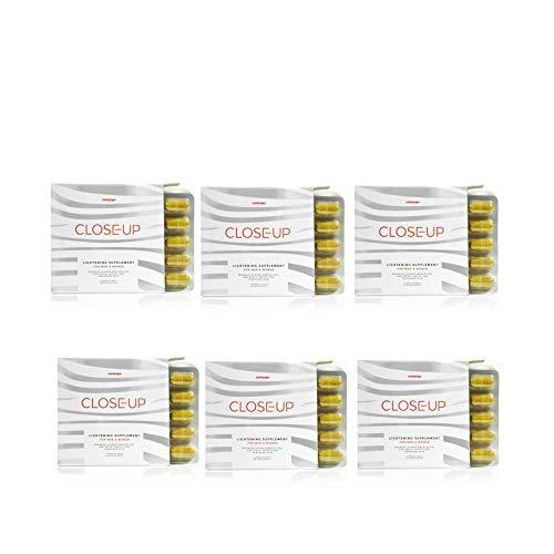 Glutathione Whitening Pills for Lightening & Brightening of The Skin, Hyperpigmentation, Melasma, Age Spots & Blemishes Treatment, Dark Spot Remover – Made in The UK (Pack 1)