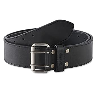 Style n Craft 392752 2-Inch Work Belt in Heavy Top Grain Hunter Leather
