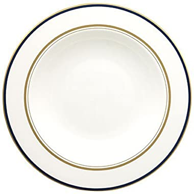 Kate Spade Library Lane Navy Pasta/Rim Soup Plate