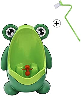 Potty Training Seat Kids Frog Potty Toilet Urinal Pee Trainer Wall-Mounted Toilet Pee Trainer Penico Pinico Children Baby ...