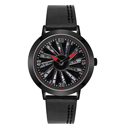 SANDA Relojes De Pulsera,El Tiempo del Reloj 1045 llega a Girar el Reloj de los Hombres del Concepto Creativo de la Personalidad de la Moda del cinturón Hueco-Negro