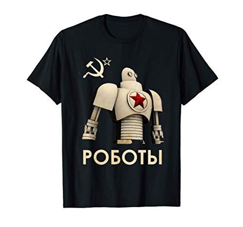 Compañeros de acero - Unión Soviética Retro Vintage URSS Camiseta