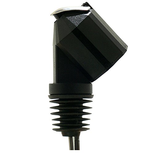 Westmark 1 Maßausgießer, Dosierung pro Ausguss: 2cl, Kunststoff, Bottle Pilot, Schwarz/Silber, 82202280
