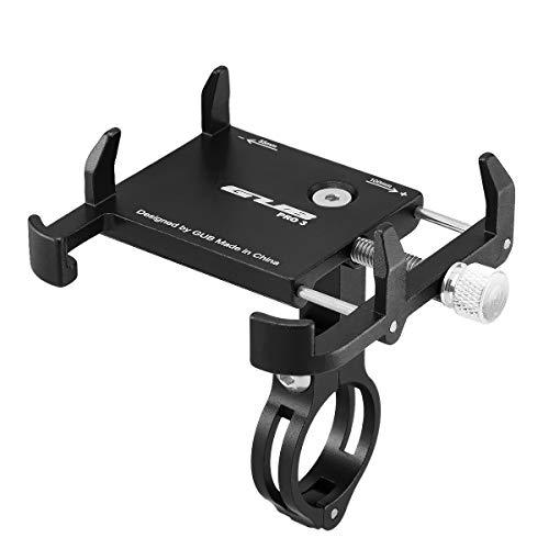 GUB PRO3 Universal Bike Fahrrad Motorrad Halterung für Handy, Smartphone, Navi usw. Schwarz