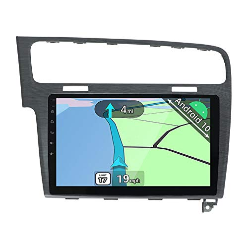 YUNTX Android 10 Autoradio Adatto per VW Golf (2013-2016) - 2G+32G - Telecamera posteriore gratuita&MIC - 10.1 pollici - Supporto DAB/Controllo del Volante/4G/WiFi/Bluetooth 5.0/Carplay/Mirrorlink