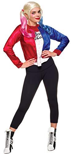 Rubies Kit oficial de disfraz de Harley Quinn Joker de DC Suicide Squad (adolescente)