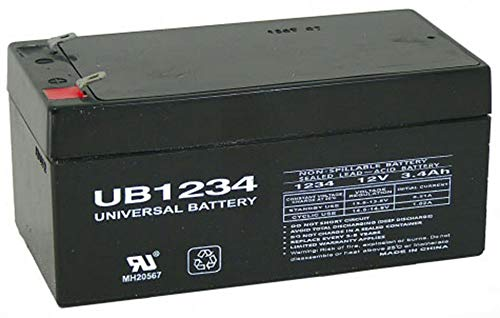 12V 3.5AH SLA Battery Replaces BP3-12 BP3.6-12 CF12V2.6 CFM12V3 CP1232