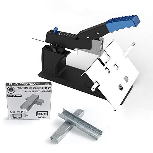 Rayson SH-03 Manual Stapler Heavy Duty Stapler Can Both Saddle and Flat
