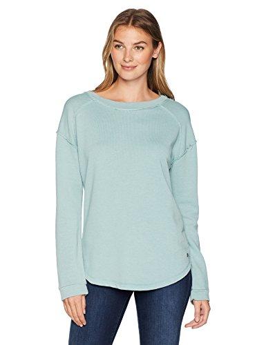 Jag Jeans Women's Belle Sweatshirt, Blue Jade, Small
