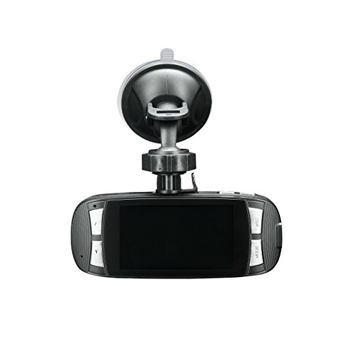 "Spy Tec G1W-C Capacitor Model Dash Cam Heat Resistant Full HD 1080P 2.7"" LCD Car DVR Video Recorder with Novatek NT96650"