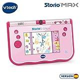 VTech- Storio MAX Tablet educativa para niños, multifunción, Pantalla táctil de 5',...