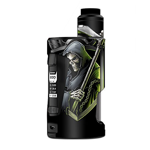 Skin Decal Vinyl Wrap for Geekvape GBox Squonk Kit 200W Vape Kit skins stickers cover/ Black ops grim reaper