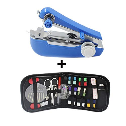 Fantastic Deal! Portable Portable Mini Manual Operation Sewing Machine Simple Sewing Tools Home Trav...