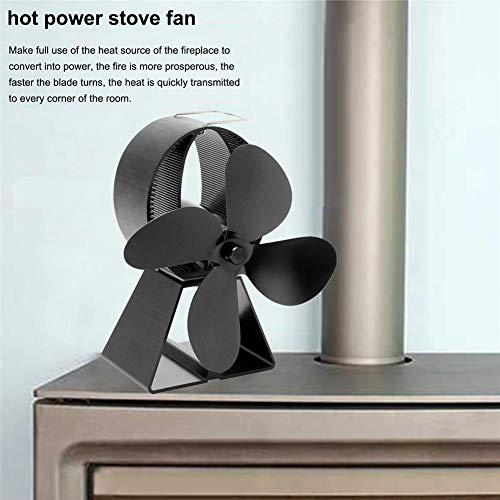 Corwar Herd Fan Machtlos Für Kamine/Kamine/Holzöfen / 4 Flügel (Rotoren) Fan/Kamin Fan/Umweltfreundlich Für Bessere Energieeffizienz well-liked