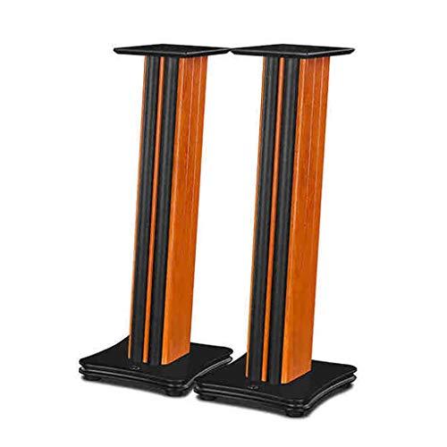 Boxenständer aus - 2-teilige hochwertige Holz-Surround-Halterung. Verwenden Sie eine MDF-Dichtekarte, um Geräusche effektiv zu reduzieren und den Soundeffekt zu verbessern.