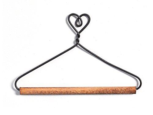 Ackfeld Manufacturing ackfieldwire Herz mit Dübel 10,2cm Aufhänger