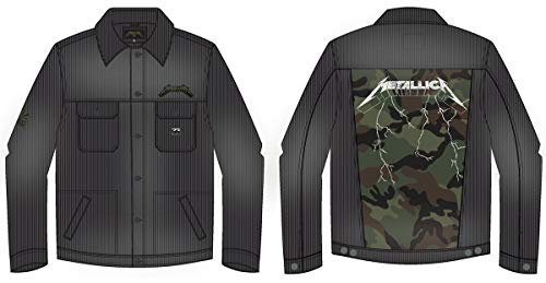 BILLABONG Jacke AI Metallica Jacket Washed Black M