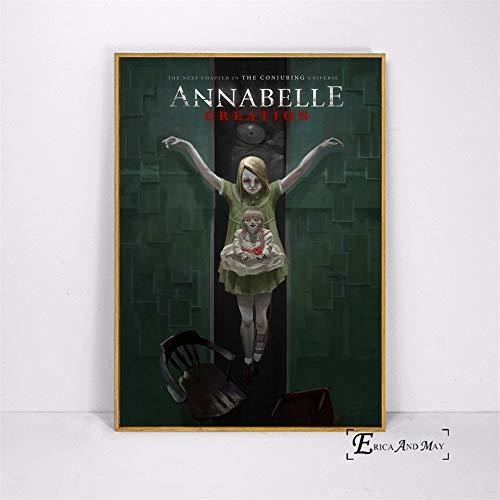 YIYEBAOFU Poster Set Klassische Horrorfilm-Vampir-Geschenk-Kunst-Malerei Canvas Bild - Buchdruck - Wandkunst Home Modern Decoration40x60cm(Kein Rahmen)