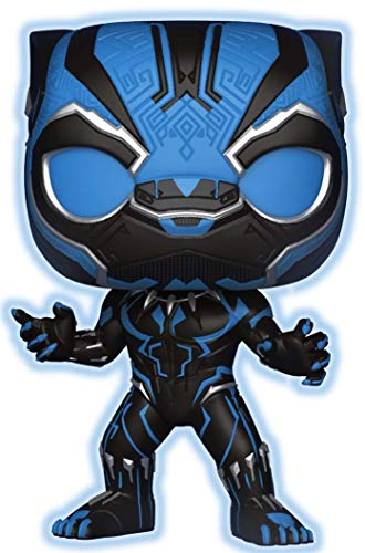 Funko Pop Marvel: Black Panther - Glow in Dark Exclusivo de Walmart