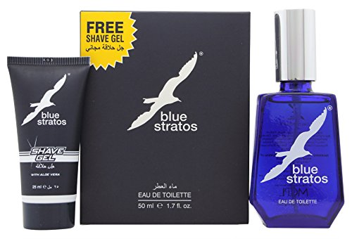 Blue Stratos Eau de toilette en vaporisateur 50 ml + gel douche 25 ml