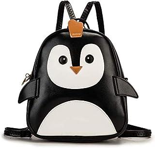 ShopyVid® Girls Cute Polka Dot Stylish Backpack for Girls (Black)