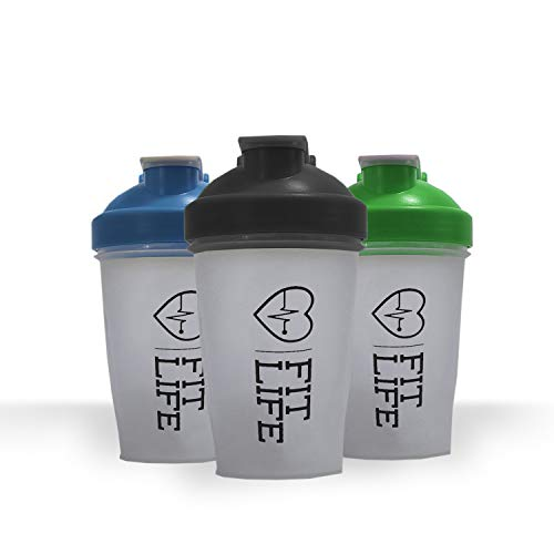 Shaker bottle for protein mixes, Water Bottle 13.5 Ounce Classic Protein Blender Bottle, Water Bottle, Dishwasher Safe, Leak Proof, Perfect Gym Fitness Gift, Fit most cup holders (Green)