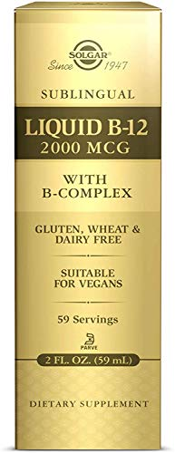 Solgar Vitamina B12 Líquida con B-complex 2000 µg, 59 ml