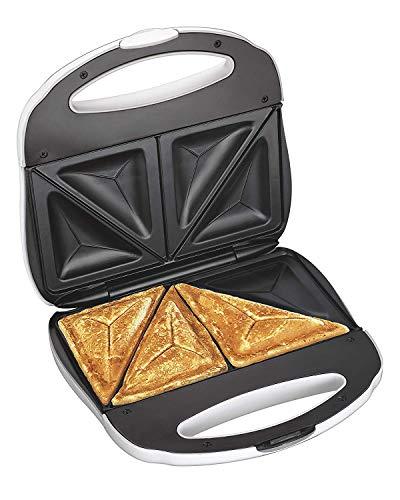 J-Jati Sandwich Maker, Panini Press + Electric Sandwich Maker Toasting, Grilling, Waffles, Omelettes, Breakfast, Lunch, dinner, Sandwich Toaster,...