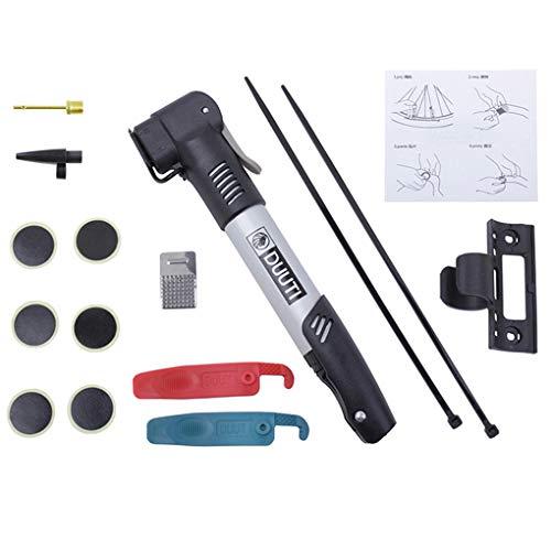 teng hong hui MTB neumático del Parche de reparación Boquilla Conjunto de Bomba Kit neumático de la Bici Portable de neumáticos de Bicicletas Bomba Adhesiva Parches Conjunto