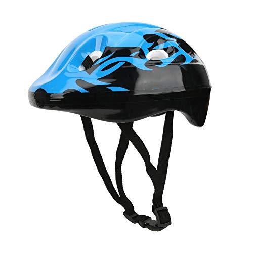 Redxiao 【𝐕𝐞𝐧𝐭𝐚 𝐑𝐞𝐠𝐚𝐥𝐨 𝐏𝐫𝐢𝐦𝐚𝒗𝐞𝐫𝐚】 Casco de Ciclismo, Casco de Bicicleta, Casco Protector de Espuma Seguridad Transpirable para Equilibrio de Scooter(Blue)
