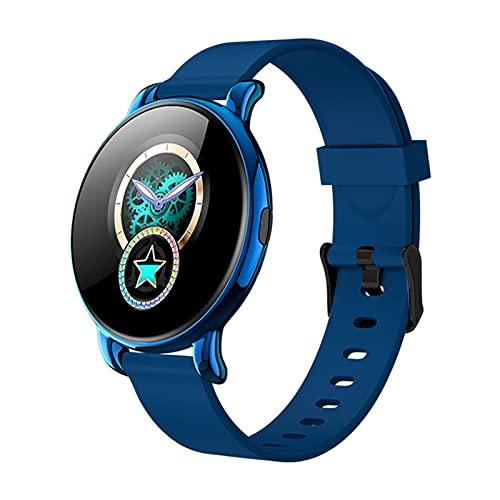 WMB Smart Digital Wristwatch Aplicación Recordatorio Música Reproducir Monitor de Ritmo cardíaco Monitor de Verano Reloj de Vestido de Verano para iPhone Huawei Samsung,A