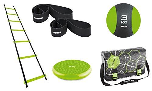 Kettler Accessoires Functional Training Set Team-Player, Schwarz/Grün, Standard