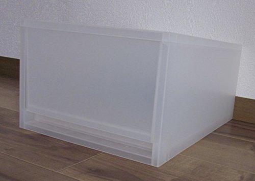 無印良品 ポリプロピレンケース・引出式・深型 (V)約幅26×奥37×高17.5cm