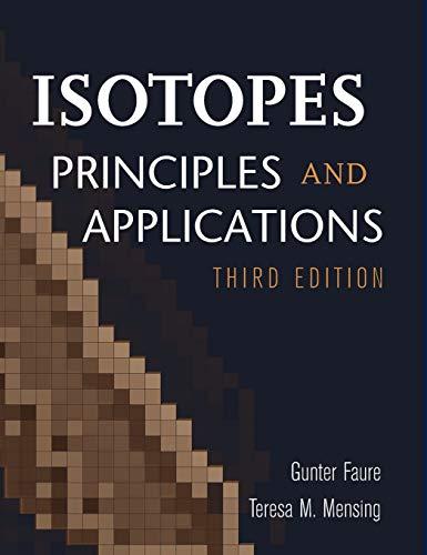 Isotopes: Principles Applicati