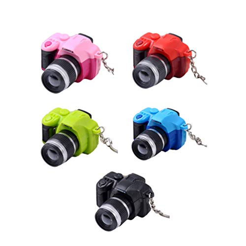 5 peças de mini ornamento de câmera de plástico decorativo gravador de vídeo, modelo mini decoração para fotografias, decoração de casa, mesa