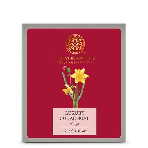 Forest Essentials Luxury Sugar Soap Nargis 125g