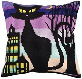 Pillow Cushion kit for Embroidery Tapestry Gobelin (Black Grace)