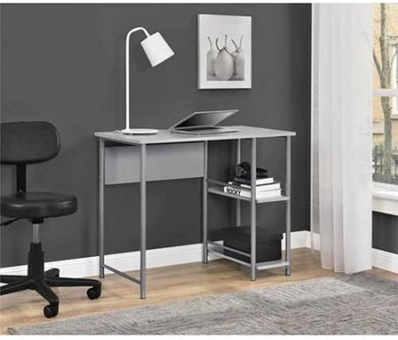 Mainstays Basic Student Desk Model 9120596W Light School Gray