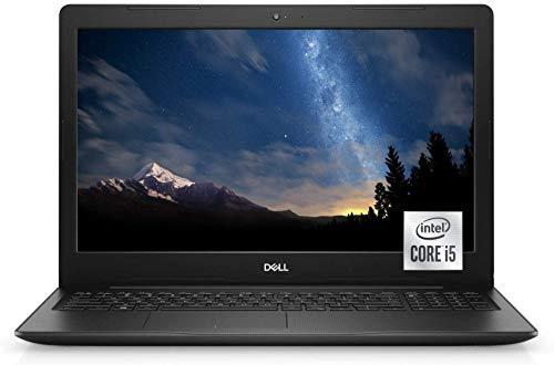 "2021 Newest Dell Inspiron 15 3000 Series 3593 Laptop, 15.6"" HD Non-Touch, 10th Gen Intel Core i5-1035G1 Processor, 16GB RAM, 256GB SSD, Webcam, HDMI, Wi-Fi, Bluetooth, Win10 Home, Black+Oydisen Cloth"