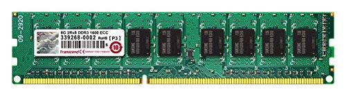 TRANSCEND 8GB DDR3 1600MHz ECC-DIMM CL11 2Rx8