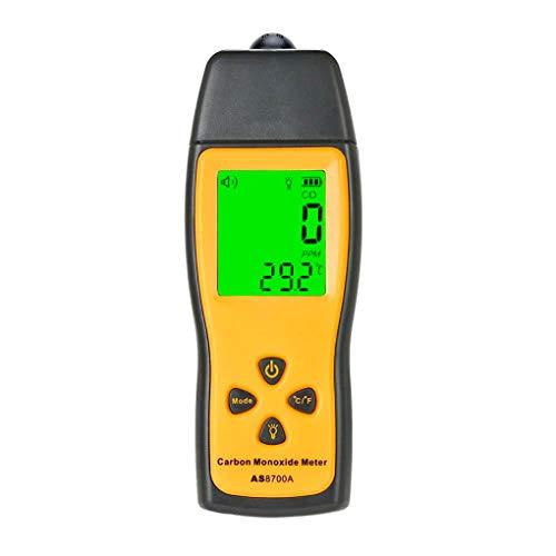 Handheld Carbon Monoxide Meter Portable CO Gas Leak Detector High Precision CO Detector CO Gas Monitor Tester 1000ppm