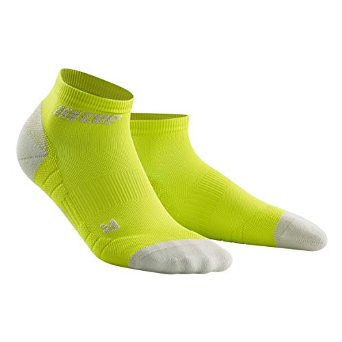 CEP - Low Cut Socks 3.0 für Damen | Kurze Sportsocken für Dein Workout in grün/grau | Größe III