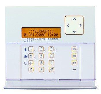 Elkron 80KP7100111 KP500D/N Tastiera LCD